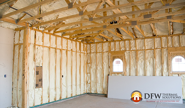 will plaster or paneling impact injection foam installation